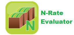 Estimate the correct N rate is for a field or a strip or spot in the field